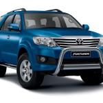 Toyota Fortuner à Tahiti