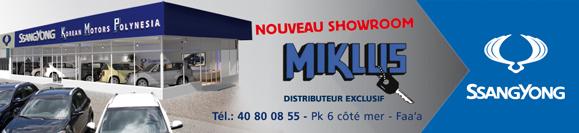 Showroom Miklus SsangYong Tahiti